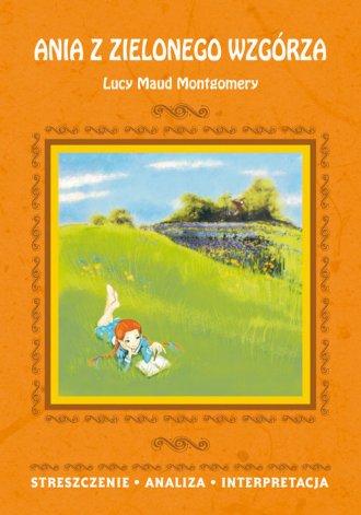 Ania z Zielonego Wzgórza Lucy Maud - okładka podręcznika