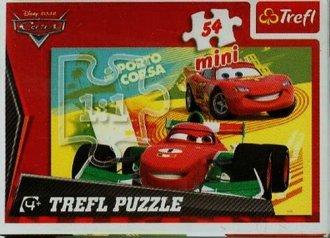 Auta (puzzle mini 54-elem.) - zdjęcie zabawki, gry