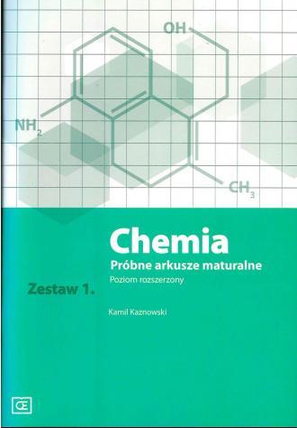 Chemia. Próbne arkusze maturalne. - okładka podręcznika