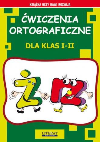 Ćwiczenia ortograficzne dla klas - okładka podręcznika