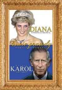 Diana. W pogoni za miłością / Książę Karol. Serce króla. PAKIET 2 KSIĄŻEK - okładka książki