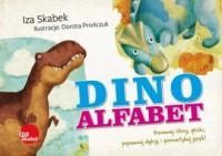 Dinoalfabet - okładka książki