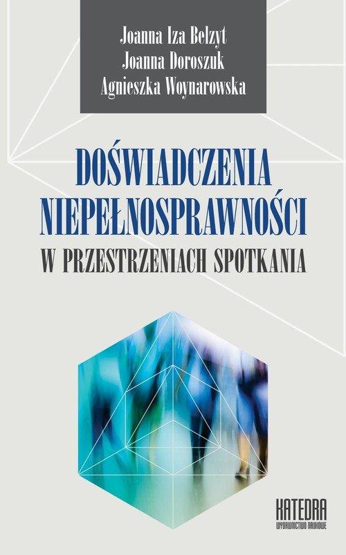 Doświadczenia niepełnosprawności - okładka książki
