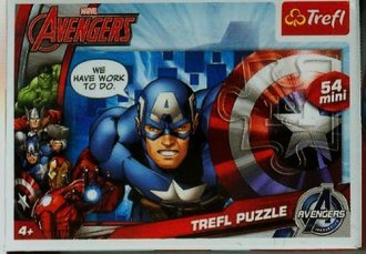 Drużyna Avengers (puzzle mini 54-elem.) - zdjęcie zabawki, gry
