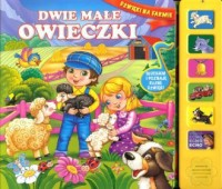 Dwie małe owieczki - okładka książki
