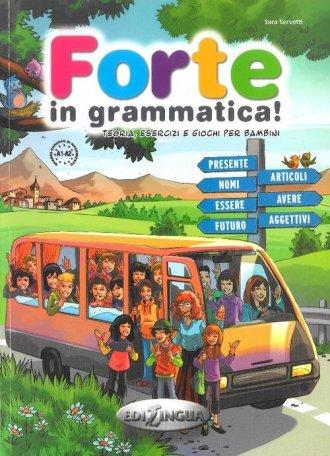 Forte in grammatica! - okładka podręcznika