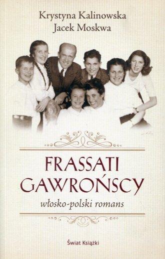 Frassati Gawrońscy. Włosko-polski - okładka książki