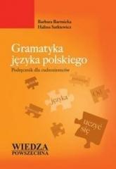 Gramatyka języka polskiego. Podręcznik - okładka podręcznika