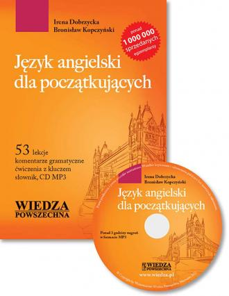 Język angielski dla początkujących - okładka podręcznika