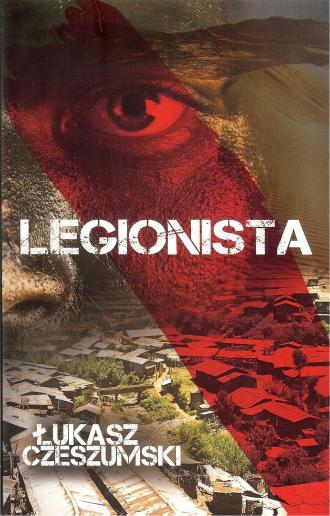 Legionista - okładka książki