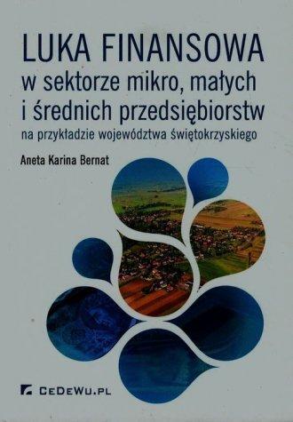 Luka finansowa w sektorze mikro, - okładka książki