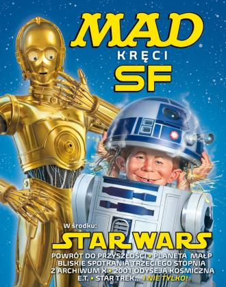 Mad kręci. SF. Tom 1. Star Wars - okładka książki
