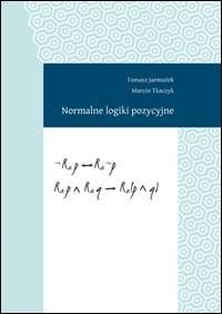 Normalne logiki pozycyjne - okładka książki