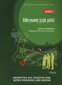 Odkrywamy język polski - okładka podręcznika