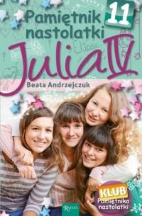 Pamiętnik nastolatki 11. Julia - okładka książki