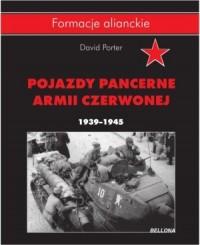 Pojazdy pancerne Armii Czerwonej - okładka książki