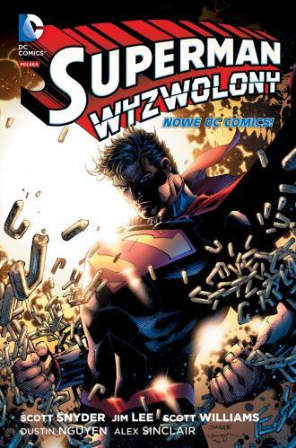 Superman wyzwolony - okładka książki