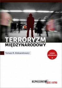 Terroryzm międzynarodowy - okładka książki