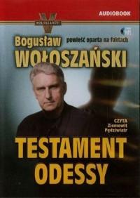 Testament Odessy - pudełko audiobooku