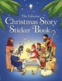 The Christmas Story Sticker Book - okładka książki