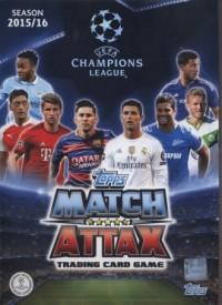 Topps Match Attack. Liga mistrzów. Album kolekcjonerski na karty - zdjęcie zabawki, gry