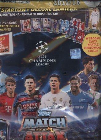 Topps Match Attack. Liga mistrzów. - zdjęcie zabawki, gry