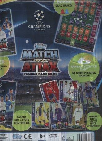 Topps Match Attax. Liga mistrzów. - zdjęcie zabawki, gry