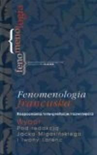 Fenomenologia francuska. Rozpoznania, interpretacje, rozwinięcia. Wybór - okładka książki