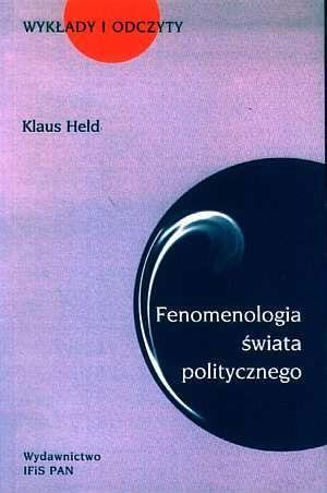 Fenomenologia świata politycznego. - okładka książki