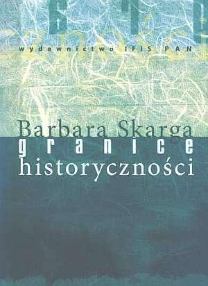 Granice historyczności - okładka książki
