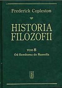 Historia filozofii. Tom 8. Od Benthama do Russella - okładka książki