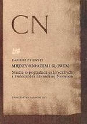 Między obrazem i słowem. Studia - okładka książki
