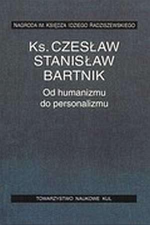 Od humanizmu do personalizmu - okładka książki