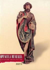 Opuscula Musealia. Zeszyt 14 - okładka książki