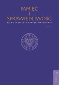 Pamięć i sprawiedliwość nr 1/2006 - okładka książki