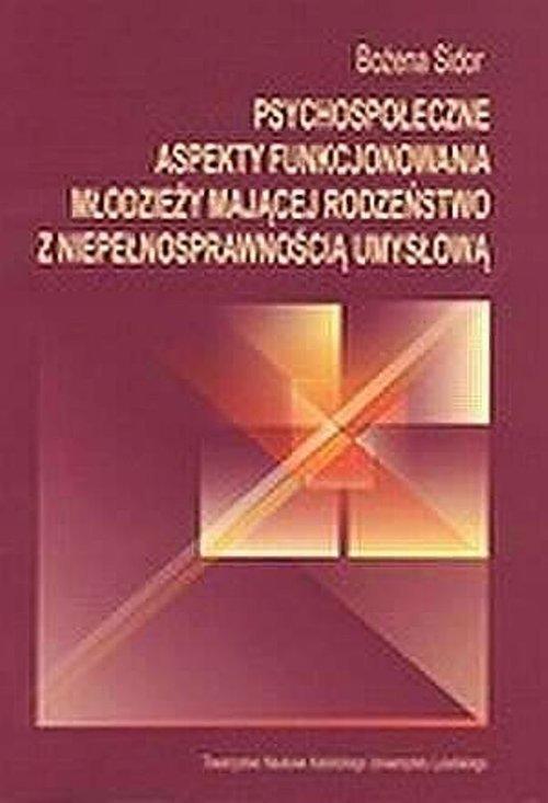 Psychospołeczne aspekty funkcjonowania - okładka książki