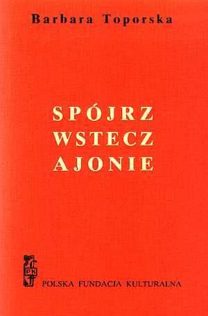 Spójrz wstecz, Ajonie - okładka książki
