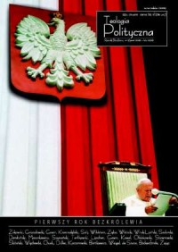 Teologia polityczna nr 3. Pierwszy rok bezkrólewia - okładka książki