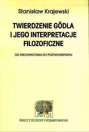Twierdzenie Godla i jego interpretacje - okładka książki