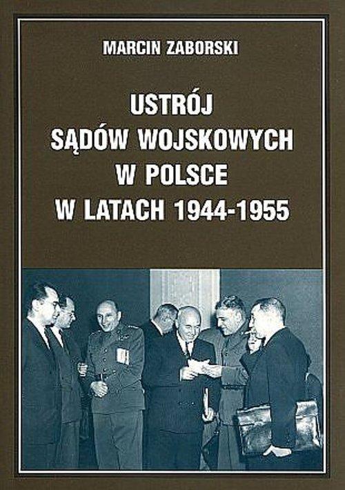 Ustrój sądów wojskowych w Polsce - okładka książki