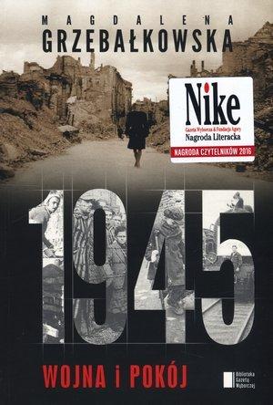 1945. Wojna i pokój - okładka książki