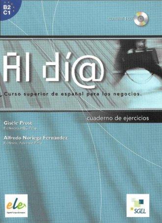 Al dia superior. Ćwiczenia (+ CD) - okładka podręcznika