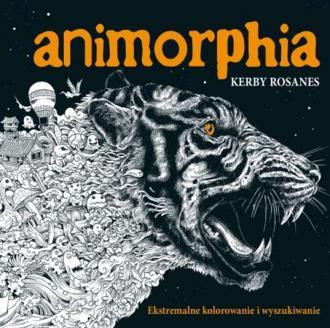Animorphia. Ekstremalne kolorowanie - okładka książki