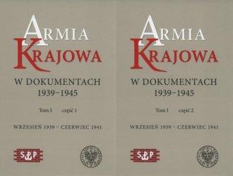 Armia Krajowa w dokumentach 1939-1945. - okładka książki