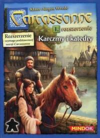 Carcassonne. Rozszerzenie 1. Karczmy i katedry. Wymaga podstawowej wersji Carcassonne - zdjęcie zabawki, gry