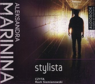 Stylista (CD mp3) - pudełko audiobooku