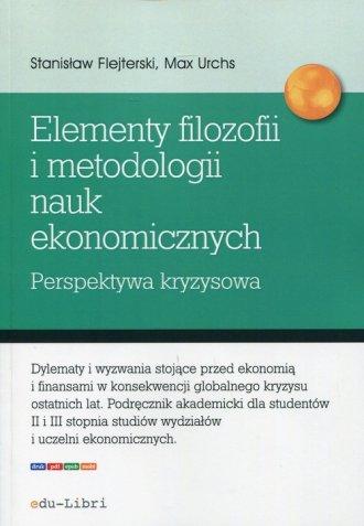Elementy filozofii i metodologii - okładka książki