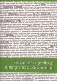 Enseignement / apprentissage du français face aux défis de demain - okładka książki