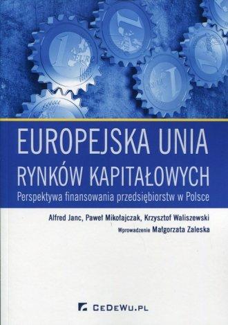 Europejska unia rynków kapitałowych. - okładka książki