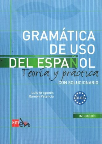 Gramatica de uso del espanol B1 - okładka podręcznika
